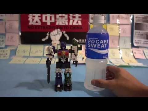 G1 Transformers Victory D-328 Dino Force Review G1變形金剛 恐龍戰隊廣東話評測