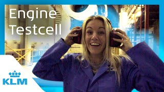 KLM Intern On A Mission - Engine Testcell