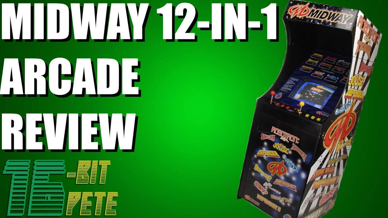 Midway 12 In 1 Arcade Review Youtube