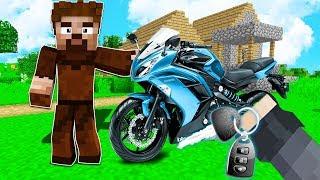 FAKİR'e YENİ MOTOSİKLET ALDIM!😱 - Minecraft