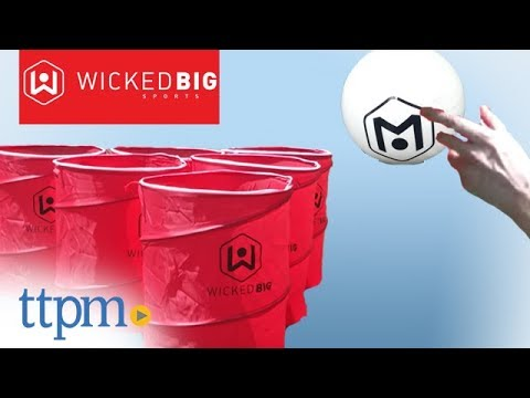12e84923 Wicked Big Pong from Wicked Big Sports - YouTube