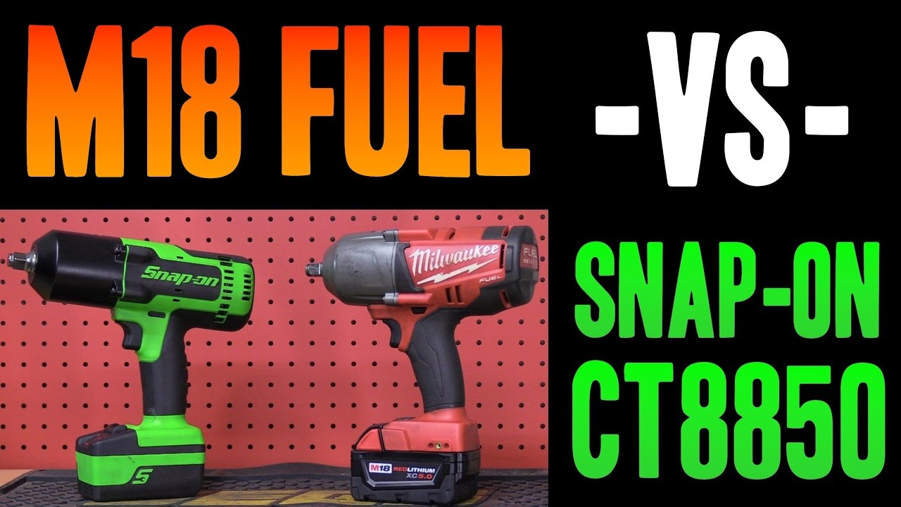 1 2 Cordless Impact >> Snap On Vs Milwaukee Ct8850 M18 Fuel 2763 1 2 Cordless Impact Wrenches