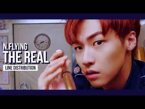 N.Flying - The Real Line Distribution (Color Coded)