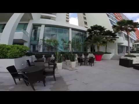Tour of La Concha Renaissance San Juan Resort PR Lobby Bar Pool Beach