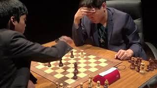 GM Wesley So - GM Praggnanandhaa Rameshbabu, Rapid chess, Richter-Veresov attack, PART II