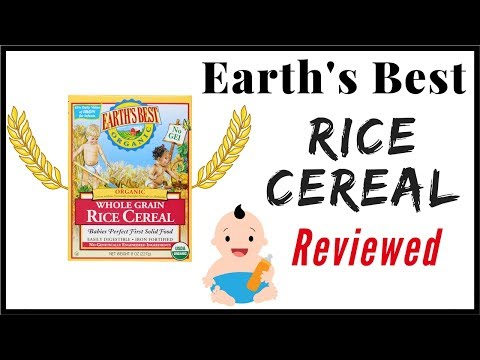 Earth's Best Rice Cereal Baby Food Review