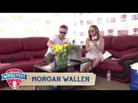 Morgan Wallen Interview at WMZQ Fest