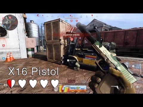 This Pistol Is Challenging... MWC #1 X16 Pistol