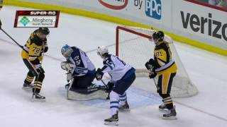 Chiarot sends message to Hornqvist: Leave my goalie alone