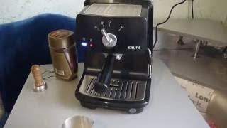 кофеварка Krups XP 4000 обзор