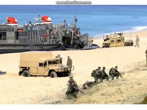 Новый видео прикол  Высадка  десанта НАТО
