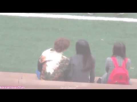 EXO KAI KISS YOON SO HEE!