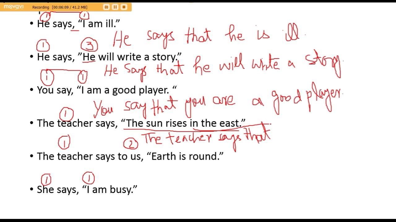 how to write speech in english pdf