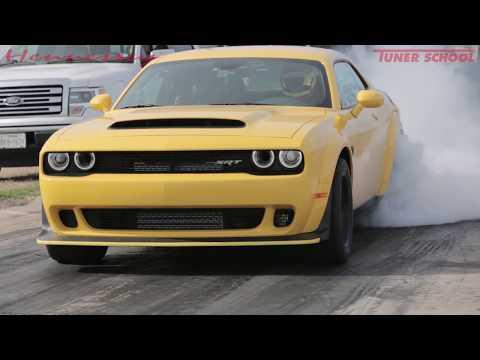 2018 Dodge Demon First 1/4 Mile Test