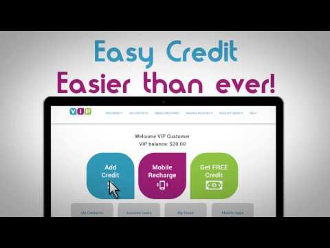 How It Works - Easy Mobile Top Up - Easy Credit with VIP Com