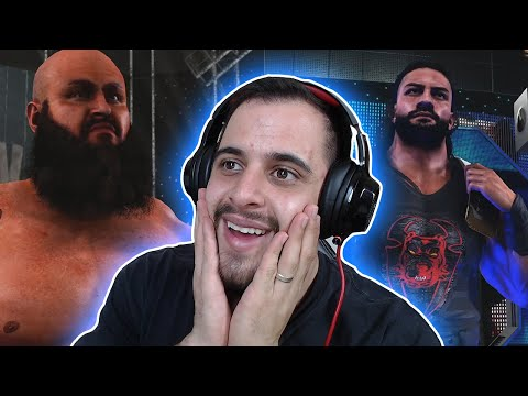 WWE 2K MUITO