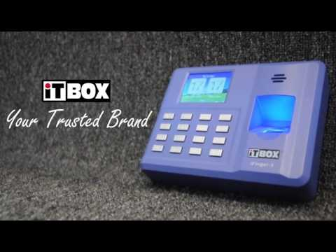 iTBOX iFinger-3 Fingerprint Time Attendance Demo