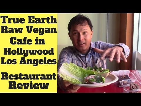 True Earth Raw Vegan Cafe Los Angeles Restaurant Review