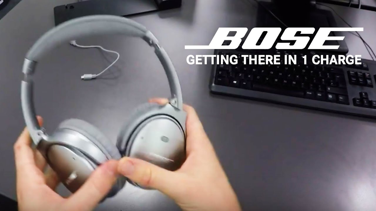 How far can you get on 1 charge of bose headphones youtube for Mercedes benz wireless headphones