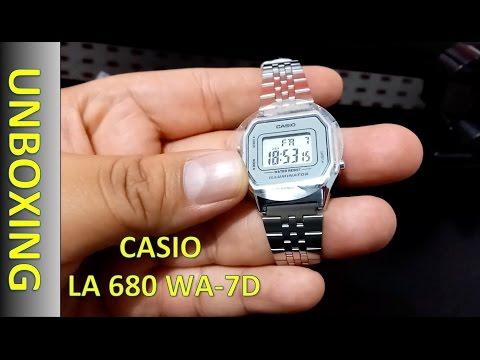 Casio LA680WA 7D Lady's Watch Reloj Digital Dama