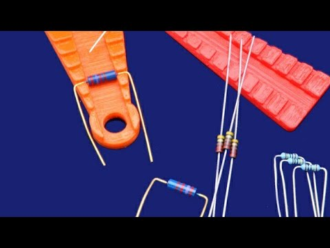 How To Bend Component Lead Perfectly    Diode/Resistor/Inductor Lead Bending   By Senkathir Selvan