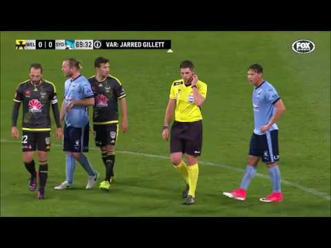 Video Assistant Referee used for the first time in the A-League