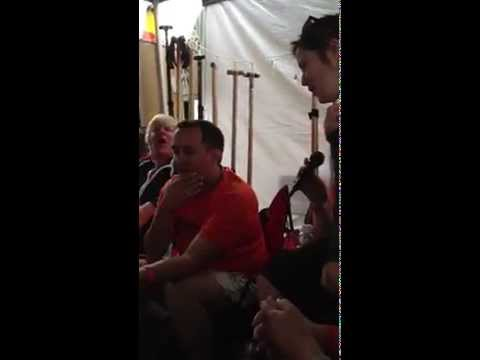 Nanaimo Dragon Boat Festival - Tent Karaoke - Piano Man