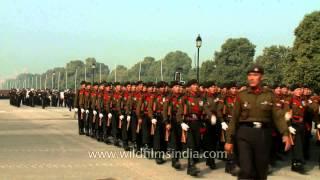 Beru Pako : Kumaoni - Garhwali hill tune at India Republic Day parade rehearsal in Delhi
