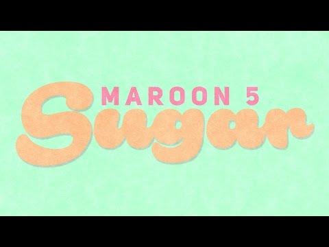 SUGAR - Maroon 5 (Kinetic Typography)