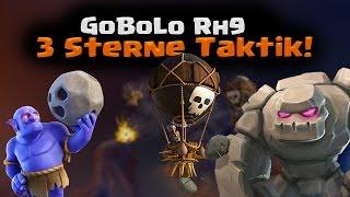 Clash of Clans | GoBoLo Rathaus 9 3 Sterne Taktik! | Reazor [Deutsch/German|HD]