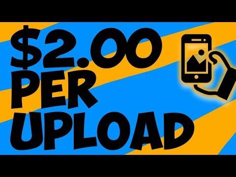 Earn $75 on PayPal Uploading Photos - Make Money Online