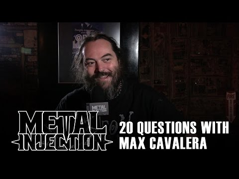 20 Questions with MAX CAVALERA of SOULFLY & CAVALERA CONSPIRACY | Metal Injection