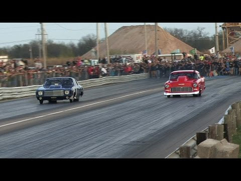 Street Outlaws DOC -vs- The 55 - No Prep Mayhem