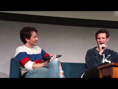 David Tennant And Matt Smith - Fish Fingers And Custard Doctor Who (Wales Comic Con)