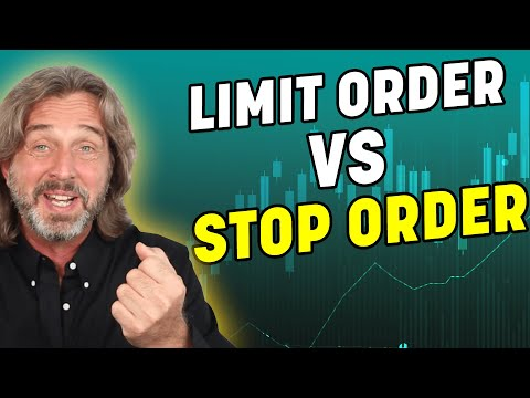 The Difference Between Stop And Limit Orders – When And How To Use It