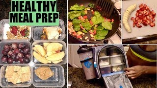 MEAL PREP!! What I Eat To Stay Fit & Healthy!