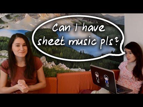 How I transcribe sheet music! | vlog