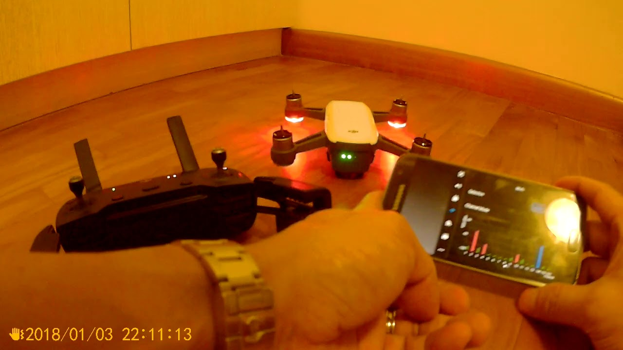 DJI Spark Remote Controller Keeps Beeping Full