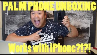 Palm Phone Unboxing Review. Works with iPhone?!?!