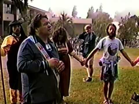 Rainbow Uprising of Consciousness Campaign Opening Ceremonies - Santa Barbara Initiation 1990