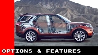 New 2017 Land Rover Discovery Design, Technology, Options, and Features