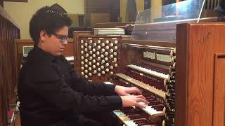 Marco A. Jimenez (Age 14) - Charles-Marie Widor - Toccata from Symphony No. 5 in F minor