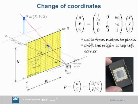ENB339 lecture 9: Image geometry and planar homography