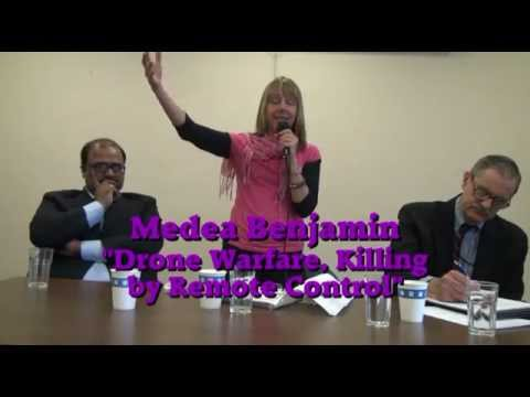 Pakistani Drone Victims' Lawyer with Medea Benjamin