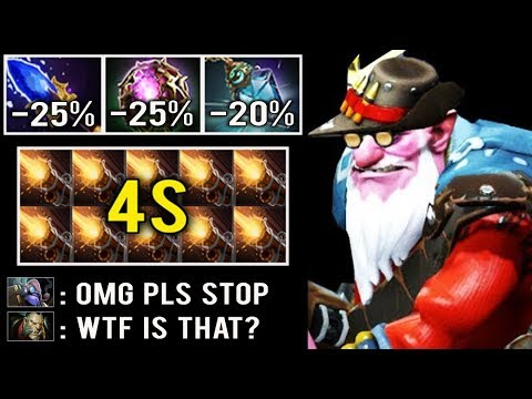 DON'T TRY THIS AT HOME -70% CD AWP Endless Stun Magic Scepter Sniper 7.25 Counter Tinker Dota 2
