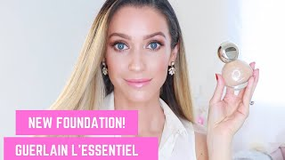*NEW* IN THE USA GUERLAIN L'ESSENTIEL FOUNDATION REVIEW + DEMONSTRATION