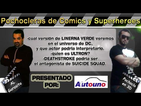 Linterna Verde / Ultron / Deathstroke en Suicide squad - DE PELÍCULA - Pochocleras de comics