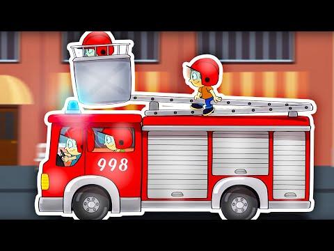 Dziecięce Przeboje - Straż Pożarna (NOWY TELEDYSK)