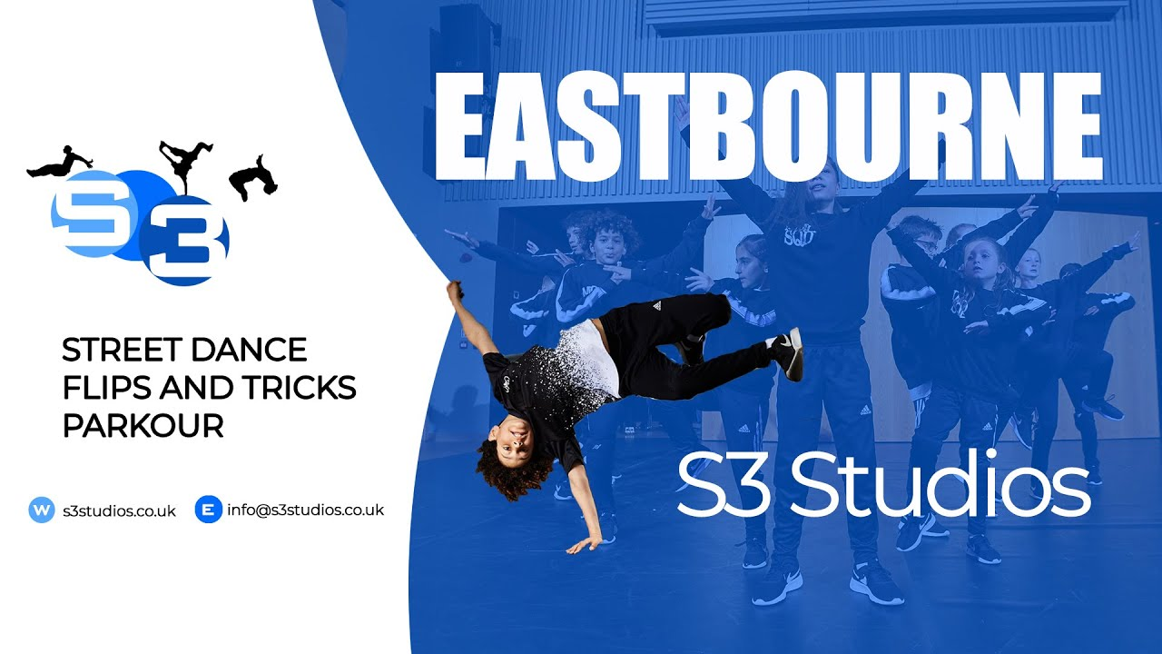S3 Studios -  Street Dance, Flips and Tricks, Freerunning & Parkour in Eastbourne