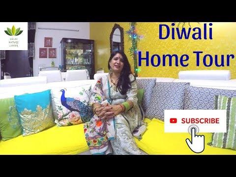 Diwali Home Tour 2018      दिवाली होम टूर 2018 I Indian Home Decor for Festive Season